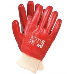 Rękawice PCV na wkładzie...